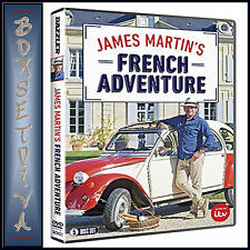 JAMES MARTINS FRENCH ADVENTURE - COMPLETE SERIES 1  *** BRAND NEW DVD***