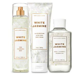 Bath & Body Works White Jasmine Trilogy Set