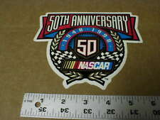 original vtg Nascar Stock Car 50th Annv 1948-1998 vinyl racing decal Sticker