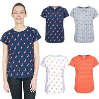 Trespass Womens T-Shirt Short Sleeve Casual Summer Top Carolyn