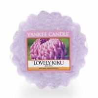 Yankee Candle Wax Melt Wax Tarts Lovely Kiku Floral Scent Pink NEW