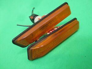 95 96 97 98 99 BMW E36 323I Front Fender Amber Side Marker Lights L/R