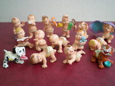 LOT 15 FIGURINES MAGIC BABIES COLLECTION ENFANT 1991 JOUETS