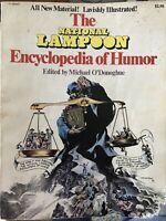NATIONAL LAMPOON ENCYCLOPEDIA OF HUMOR (1973) Russ Heath & Frank Frazetta!