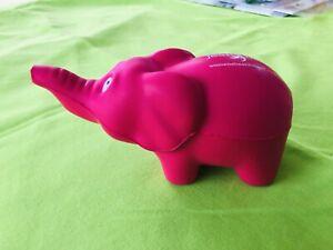 Pink Elephant: Promotional Soft Desk Toy. Jean Hailes. Women's Health Week. NEW.