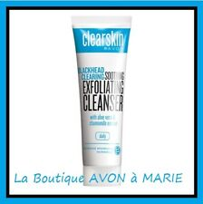 EXFOLIANT NETTOYANT visage ANTI-POINTS NOIRS Clearskin AVON : BLACKHEAD CLEARING