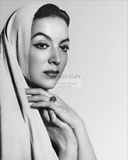 MARIA FELIX MEXICAN ACTRESS - 8X10 PUBLICITY PHOTO (CC319)