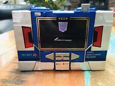 Soundwave Transformers Original VTG G1 1984 Pre-rub