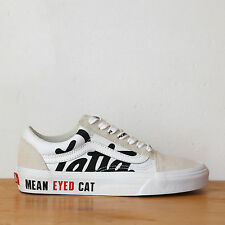 Vans x Patta Old Skool 4.5us - 36eu True White/Black Mean Eyed Cat Sneakers DS