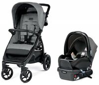 Peg Perego Booklet 50 Travel System Stroller w/ Infant Car Seat Atmosphere NEW