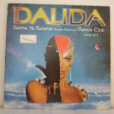 "Dalida – Salma Ya Salama (Remix Club) Barclay –Vinyl, 12"", 45 RPM, Maxi-Single"