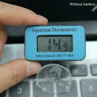 Blauer digitaler LCD-Aquarium-wasserdichter Temperatur-Thermometer-Messinst X3S9