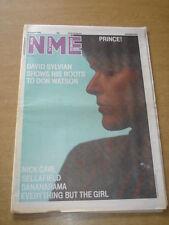NME 1986 AUGUST 23 PRINCE DAVID SYLVIAN NICK CAVE SELLAFIELD BANANARAMA