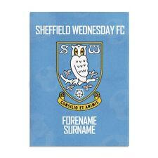 Sheffield Wednesday f. C. - Personalisiert Decke (Crest 100x75)