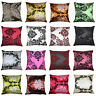 SET OF 4 CUSHION COVER NEW FLOCK DAMASK LUXURY CUSHION COVERS ALL COLOURS 18""