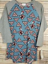 SMALL LuLaRoe Disney Collection Randy Minnie Mouse Blue Bows Triangle Body NWT
