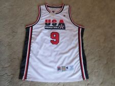 MICHAEL JORDAN 1992 USA OLYMPIC TEAM CHAMPION BASKETBALL JERSEY MEN'S 52 NEW