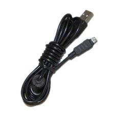 HQRP Cable USB para Olympus Stylus 790 SW, 800, 820, 830, 840, 850 SW Cámara