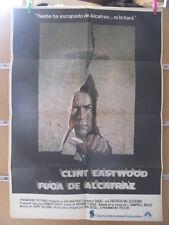 1993     FUGA DE ALCATRAZ. CLINT EASTWOOD.