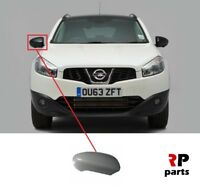FOR NISSAN QASHQAI 2007-2014 NEW WING MIRROR COVER CAP PRIMED RIGHT O/S