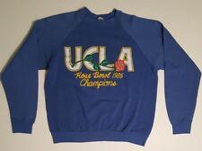 UCLA BRUINS Football VINTAGE Rose Bowl Champions Game 1986 VTG Sweatshirt Wmn XL