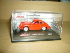 SCHUCO Porsche 356 Coupe 1950 rot, in OVP, 1-72