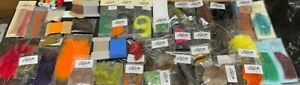Job lot - 50 x Assorted Packs of Fly Tying Materials and Tools