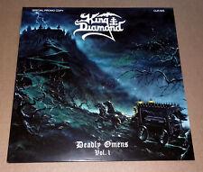 KING DIAMOND - Deadly Omens Vol. 1 (Blue Vinyl) LP