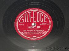 JIM WYNN'S BOBALIBANS Rock Woogie / Cherry Red 78 Gilt-Edge 528 PEE WEE WILEY