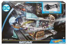NEW ~ HOT WHEELS BATCAVE TRACK SET ~ EXCLUSIVE BATMAN CAR ~ MATTEL DC COMICS