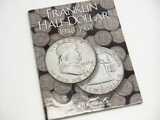 US Silver Franklin Half Dollar Complete Set 36 Coins 1948-1963 H.E. Harris & Co.