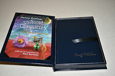 SIGNED Neil Gaiman HOGBEN CHRONICLES Kuttner 2013 1ST EDITION LIMITED 52 COPIES!