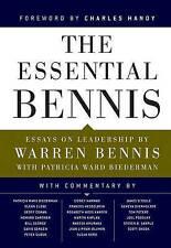 The Essential Bennis, Good Condition Book, Bennis, Warren, Biederman, Patricia W