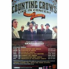 COUNTING CROWS RIESEN TOURPOSTER GIGPOSTER HARD CANDY TOUR UK 2003 150x100cm