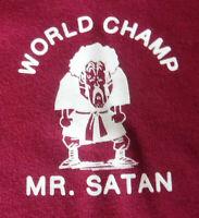 NWT Uniqlo + Dragon Ball - Mr Satan World Champ Tshirt - XS Shonen Jump 50th