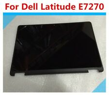 "Dell Latitude E7270 12.5"" FHD Touchscreen LCD Screen Display Complete Assembly"