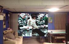 HUGE! 42x33 JOE NAMATH Vinyl Banner POSTER NEW YORK JETS football ART!!