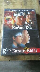 Coffret collector 2 dvd-Karaté kid 1+2(1984&1986)-Neuf sous blister-zone 2