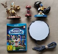 Wii U Game Skylanders Imaginators Starter Pack + 3 Figures Portal of Power