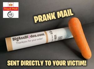 Prank Letter Mail Postage - Postal Joke Funny 100% Anonomous! CARROT