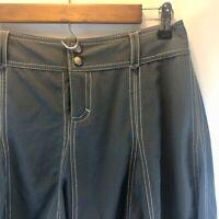 Athleta Women's Whatever Flared Athletic Athleisure Skirt Skort Gray Size 4