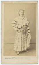 CDV circa 1865. Ferdinand Heuzey, acteur au théâtre des Variétés.