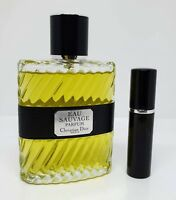 Christian Dior - Eau Sauvage Parfum - 5ml SAMPLE Decant Glass Atomizer
