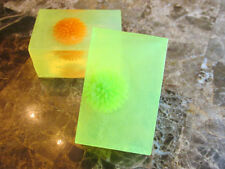 Home Made Natural Jelly Donut With A Suprise Ball Glycerin Soap Total 4.5 oz