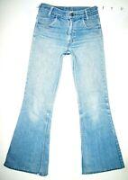 *HOT VINTAGE 80's USA LEVI'S 784 FLARE - ORANGE TAB 6 Button Denim Jeans 27 x 29