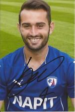 CHESTERFIELD * SAM HIRD SIGNED 6x4 PORTRAIT PHOTO+COA