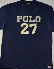 Polo Ralph Lauren TShirt Navy 27 Logo Tee Size LT L Large Tall NWT $70