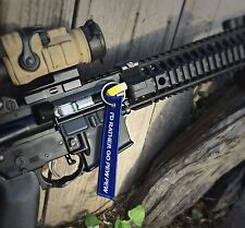 AR-15 AK47 .223 5.56 7.62 .308 Chamber Safety Rifle Flag / I'd Rather go Pew Pew