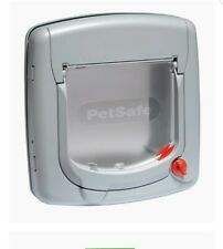 Petsafe Staywell Manual 4 Way Locking Deluxe Cat Flap - GREY