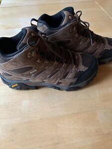 MERRELL MOAB 2 MID Waterproof Hiking Boots Men's Size 13 W Vibram Soles J06051